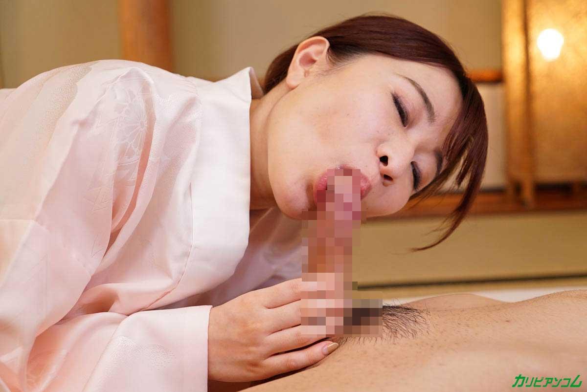 フェラする森田みゆちゃん