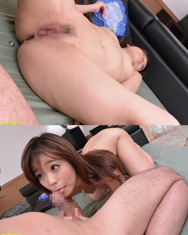 中出しされ鈴森汐那ちゃんのマンコからは白い精子が流れ出る!そして可愛い顔でお掃除フェラ